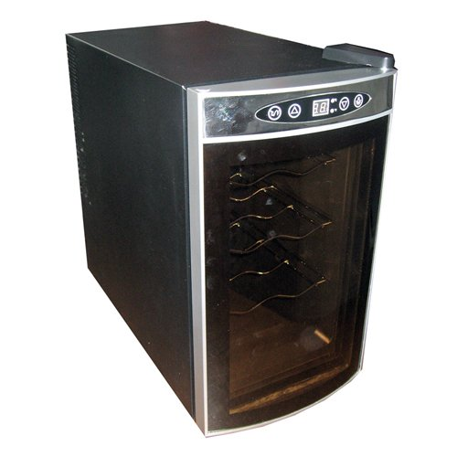 Price and Product Details Koolatron WC08 Thermoelectric 8-Bottle Countertop Wine Cellar
