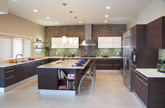 Modern Kitchens The Center Of The Modern Home