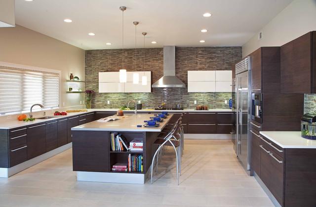 modern kitchens the center of the modern home - Modern Kitchens