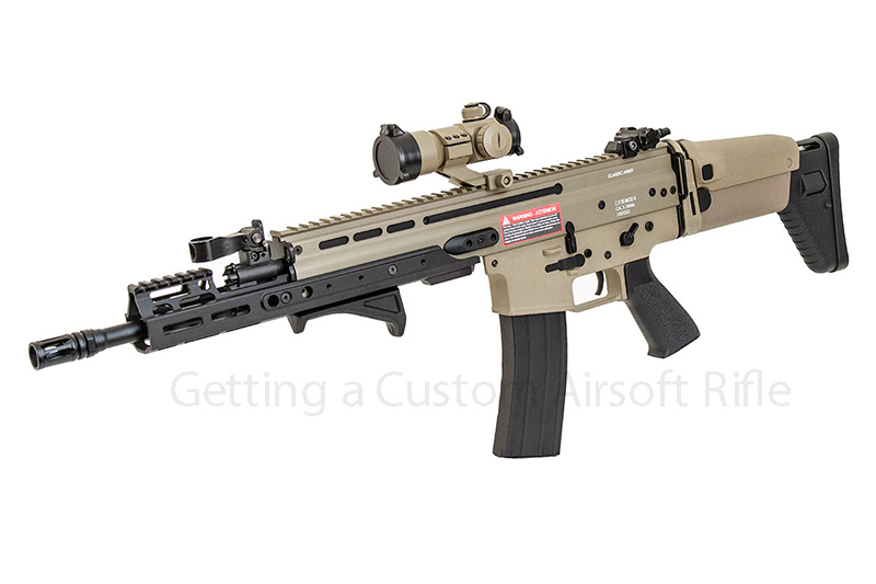 Getting a Custom Airsoft Rifle
