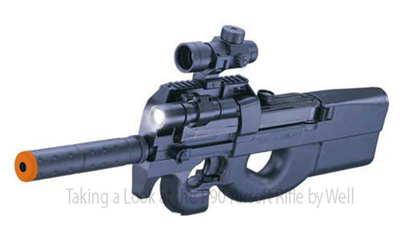Taking a Look at the P90 Airsoft Rifle by Well