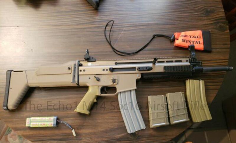 The Echo1 M14 Soc16 Airsoft Rifle