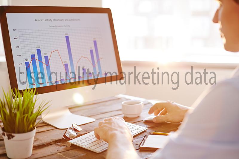 Use quality marketing data