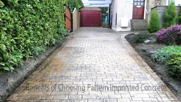 Benefits of Choosing Pattern Imprinted Concrete