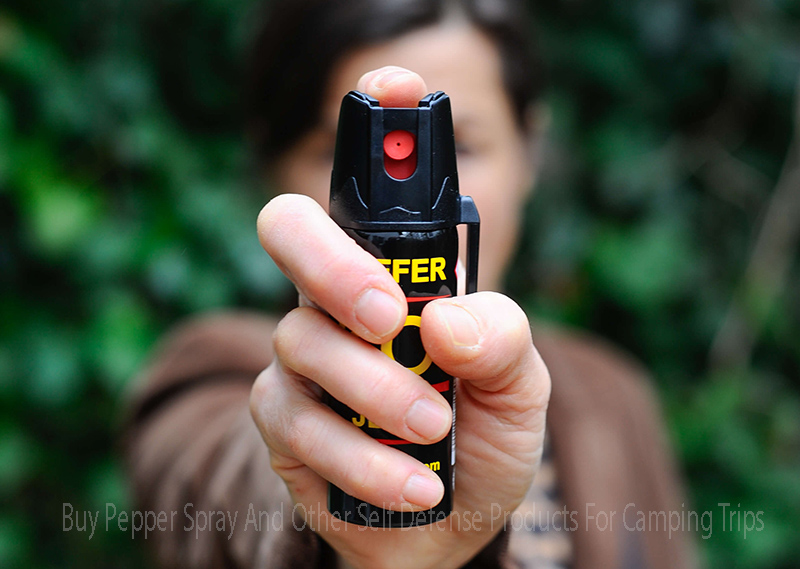 Buy Pepper Spray And Other Self Defense Products For Camping Trips