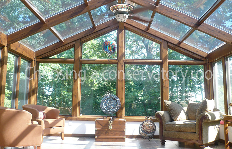 Choosing a conservatory roof