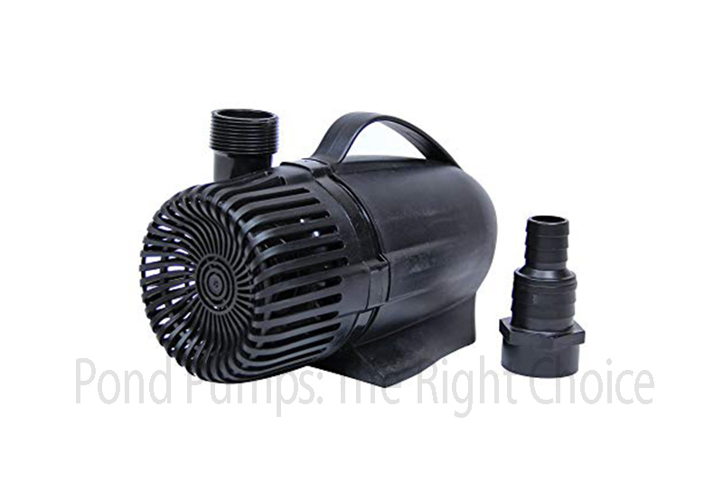Pond Pumps: The Right Choice