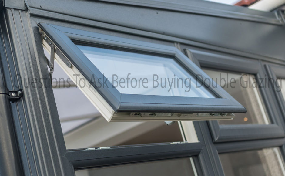 Questions To Ask Before Buying Double Glazing