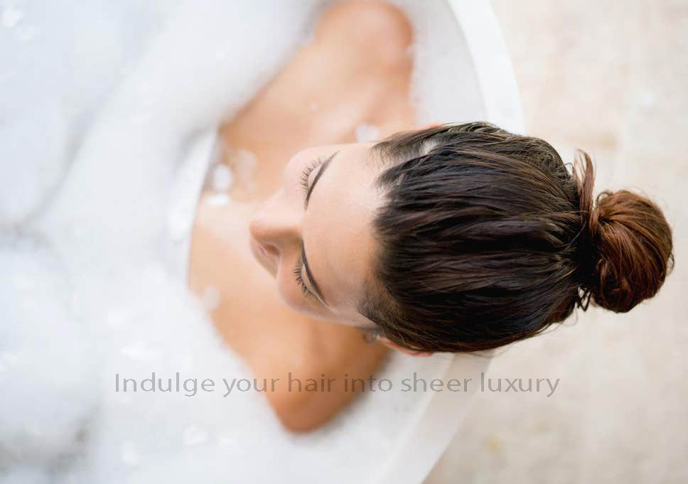 Indulge your hair into sheer luxury